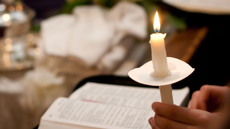 Easter Vigil at the Church of Transfiguration - Toronto